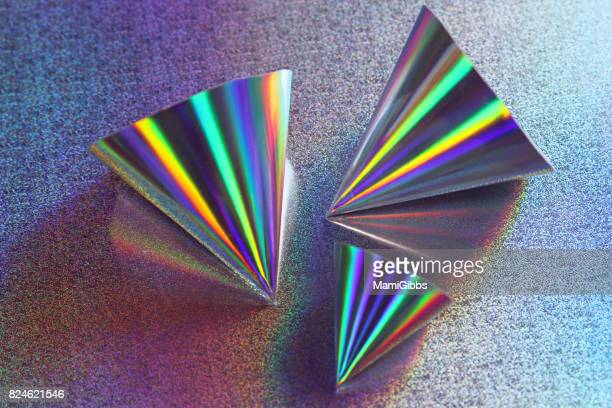 Hologram paper art