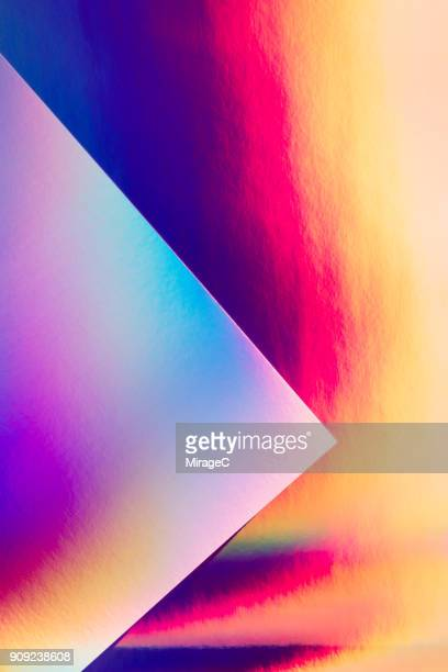 Holographic Paper and Spectrum Pattern