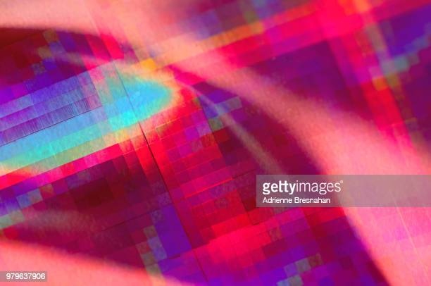 holographic pink backdrop - funky stock pictures, royalty-free photos & images