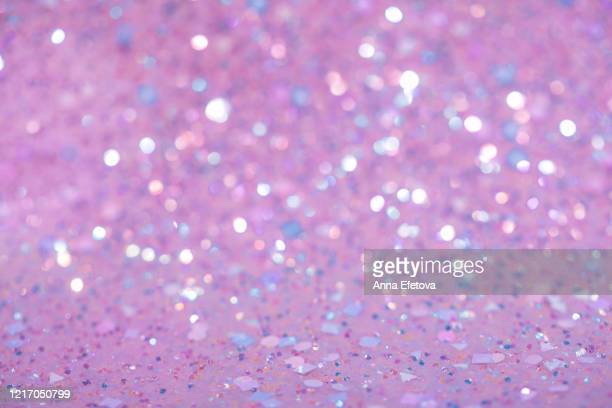 holographic sparkling background - sequin stock pictures, royalty-free photos & images