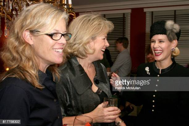 Holsta Chapman Terri Lindvall and MichelleMarie Heinemann attend Claudia Gabel celebrates the launch of her new book Romeo and Juliet and Vampires at...