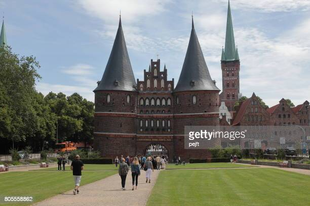 Holstentor - The Holstein Gate, Lübeck Germany