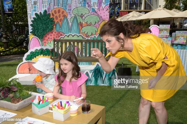 Holt Fisher Smith Harper Renn Smith and Tiffani Theissen attend a book signing event for their book You're Missing It at The Grove on May 04 2019 in...