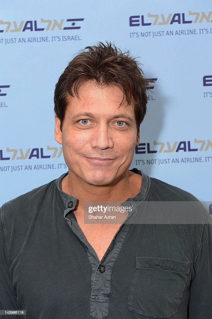 Holt Mc Callany seen at JFK Airport on May 6, 2012 in New York City.