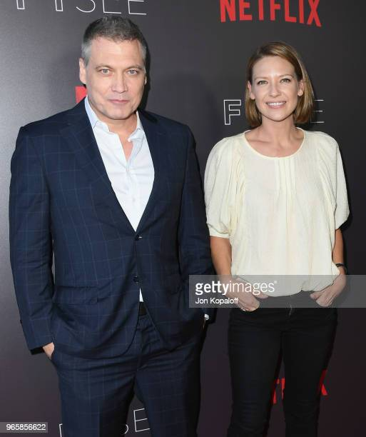 Holt McCallany and Anna Torv attend Netflix's 'Mindhunter' FYC Event at Netflix FYSEE At Raleigh Studios on June 1 2018 in Los Angeles California