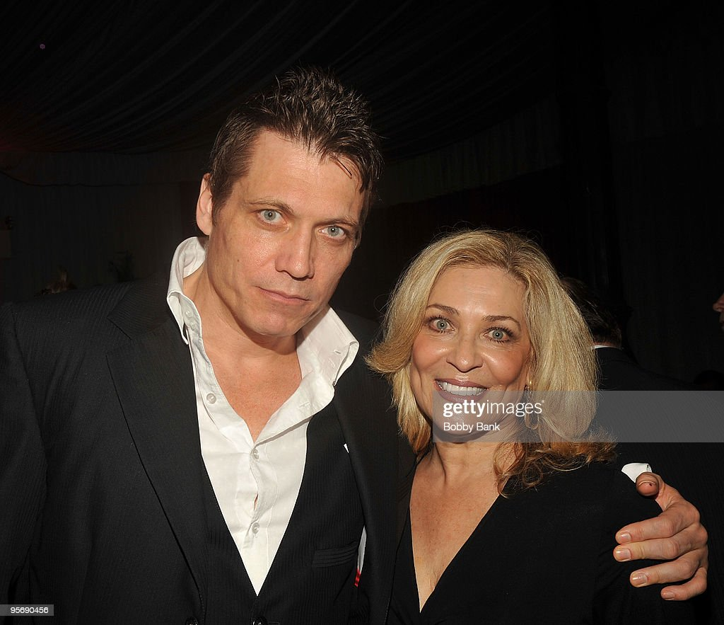 Holt McCallany and Louise Rizzuto attends the 13th Annual 'Teddy Dinner' for the Dr. Theodore A Atlas Foundation at Hilton Garden Inn on November 19, 2009 in the borough of Staten Island in New York City.