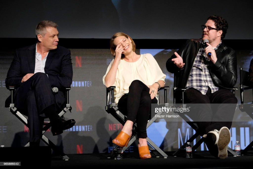 "Netflix's ""Mindhunter"" FYC Event - Panel : News Photo"