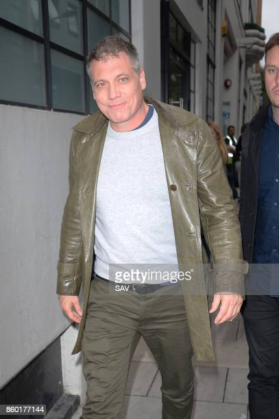 Holt McCallany arrives at The AOL Build Series on October 11 2017 in London England