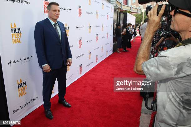 Holt McCallany attends the ATT And Saban Films Present The LAFF Gala Premiere Of Shot Caller at ArcLight Cinemas on June 17 2017 in Culver City...