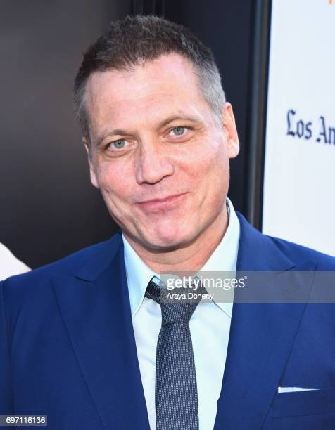 Holt McCallany attends the 'Shot Caller' Premiere during the 2017 Los Angeles Film Festival at Arclight Cinemas Culver City on June 17 2017 in Culver...