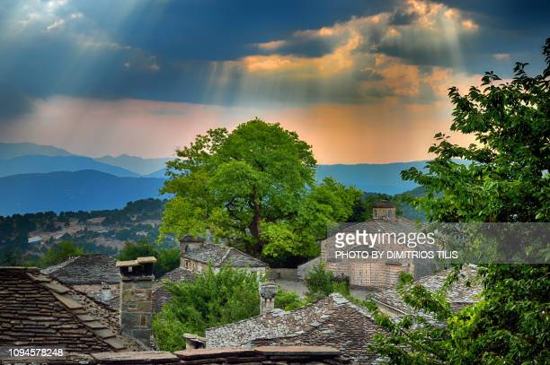 holy archangel temple 3 - epirus greece stock pictures, royalty-free photos & images