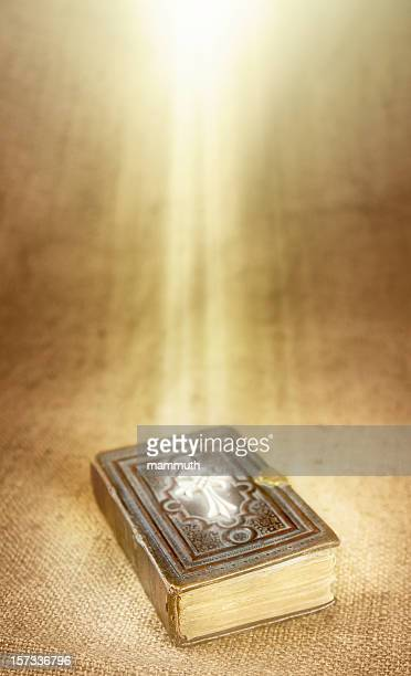 holy book in divine light - pingst bildbanksfoton och bilder
