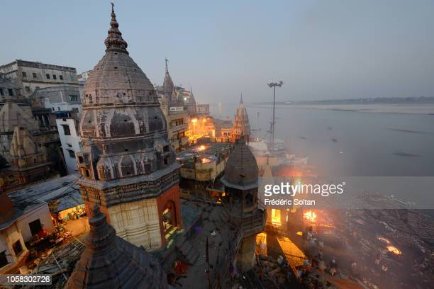 Holy City of Varanasi Manikarnika Ghat is one of the ghats in Varanasi and is most known for being a place of Hindu cremation Religious capital of...