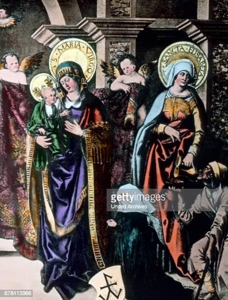 Holy Elizabeth and Holy Virgin Mary