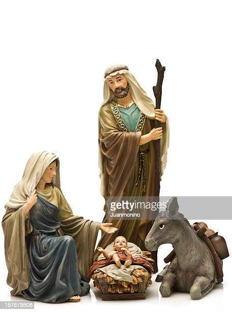 holy family - holy family jesus mary and joseph stock photos and pictures