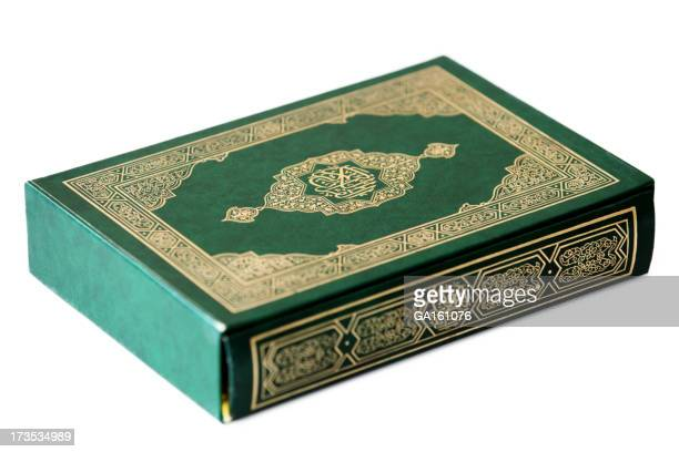 Holy Koran Book on white