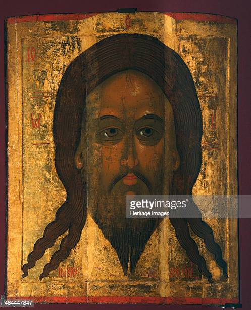 Holy Mandylion 1447 Found in the collection of the State Tretyakov Gallery Moscow