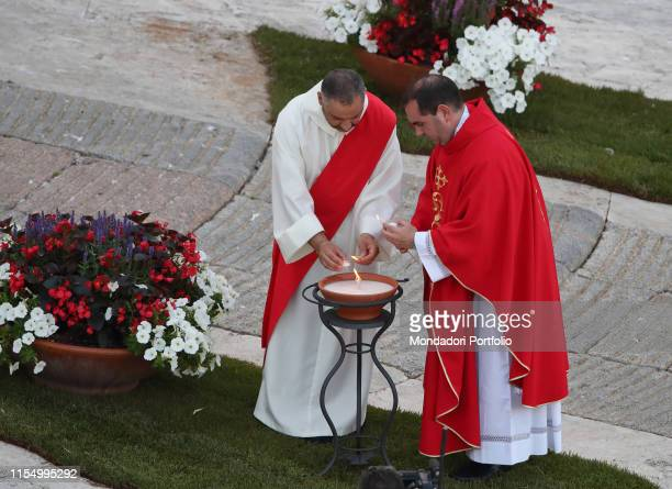 Holy Mass celebrated by Pope Francis in occasion of the vigil of Pentecost in St Peter's Basilica Vatican City June 8th 2019