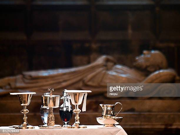 Holy mass in the Manchester Cathedral