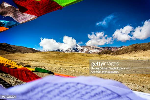 Holy place for Buddhist community near Lachen Sikkim