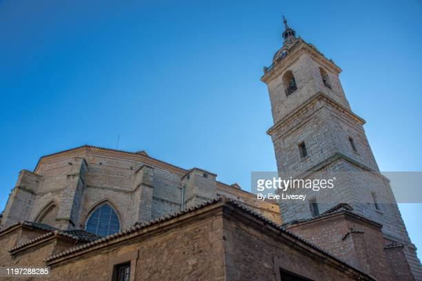 holy priory church cathedral basilica of the military order of our lady saint mary of the prado of ciudad real - renacimiento fotografías e imágenes de stock
