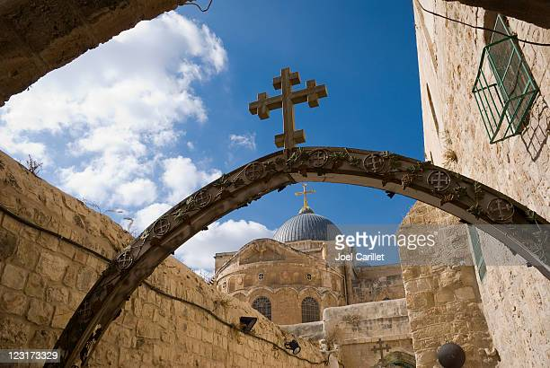 holy sepulchre - church of the holy sepulchre stock pictures, royalty-free photos & images