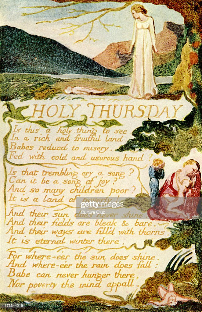 holy thursday songs of experience