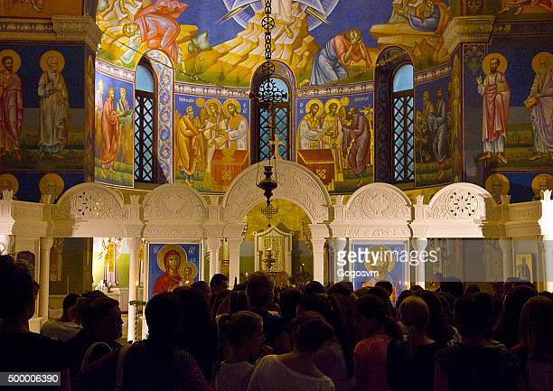 holy transfiguration orthodox cathedral, trebinje - transfiguration of jesus stock pictures, royalty-free photos & images