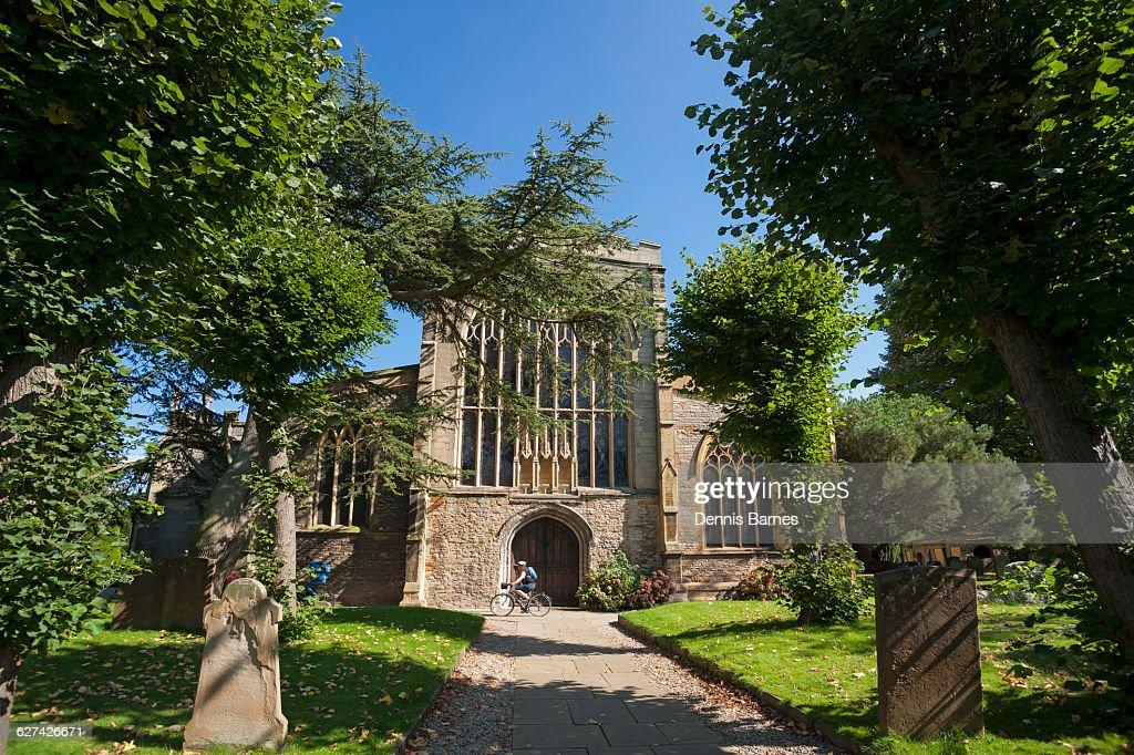 Holy Trinity Church, Stratford upon Avon UK : Stock Photo