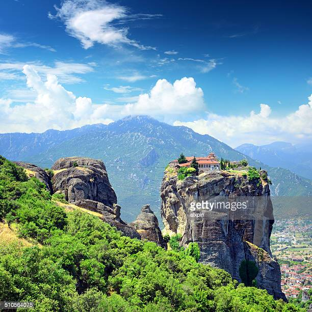 holy trinity monastery - monastery stock pictures, royalty-free photos & images
