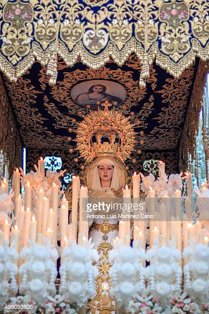 Holy Week in Granada, Holy Thursday. Brotherhood of Our Father Jesus of the Passion and the Virgin of the Star.