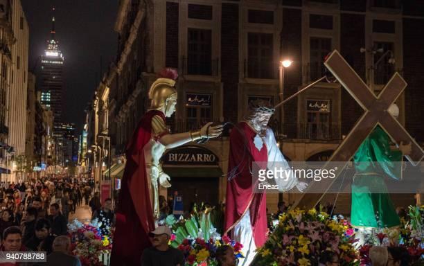 holy week in mexico city - festival de la virgen de guadalupe fotografías e imágenes de stock