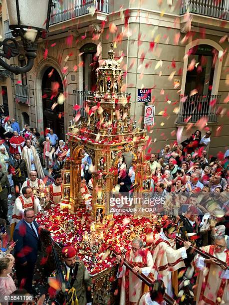 holy week procession in spain - holy week stock pictures, royalty-free photos & images