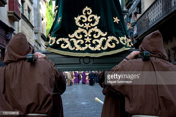 holy week procession - sedan stock pictures, royalty-free photos & images