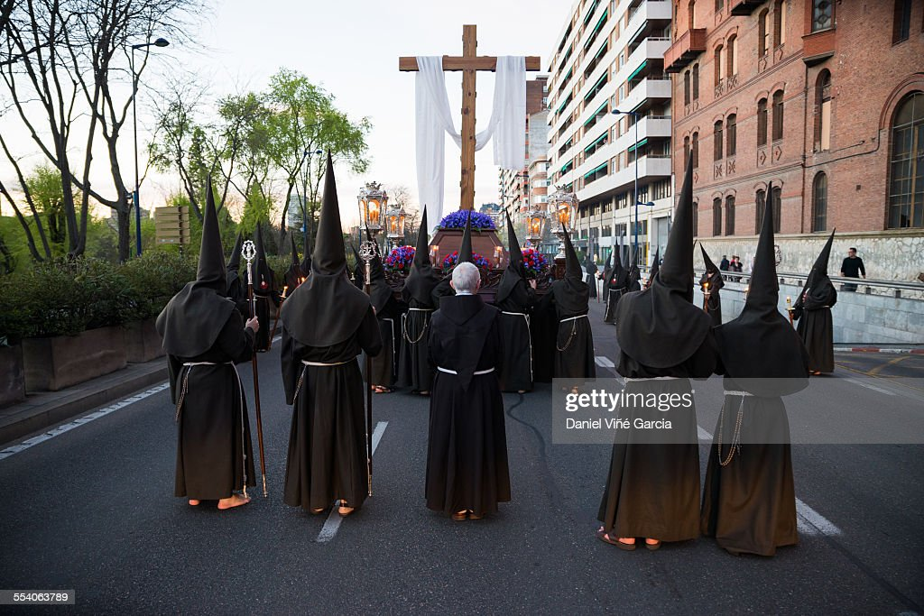 Holy Week, Valladolid, Spain. : Stock Photo