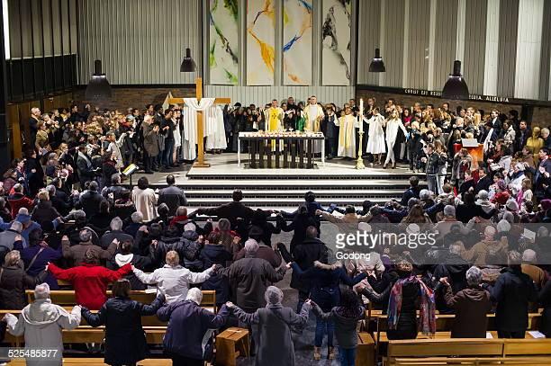 Holy week Vigil on Holy Saturday