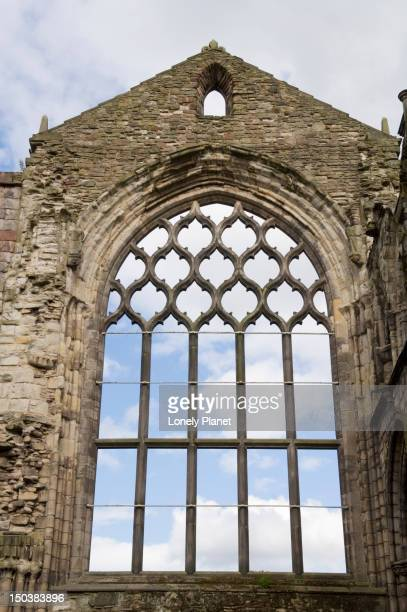 Holyrood Abbey at Palace of Holyroodhouse, Holyrood district.