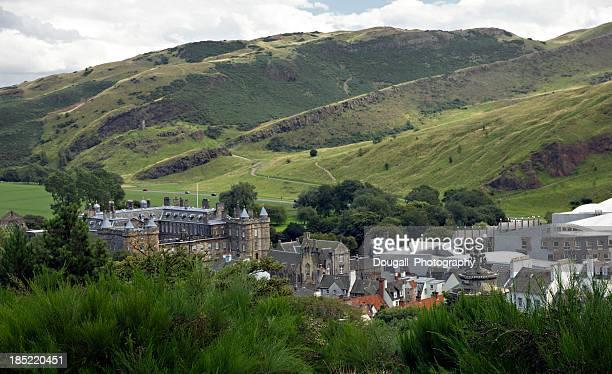 Holyrood Palace and Arthur's Seat