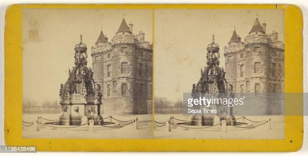 Holyrood Palace Edinburgh James Valentine 1870s Albumen silver print