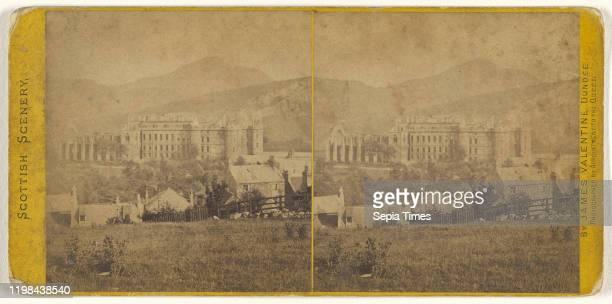 Holyrood Palace from Calton Hill Edinburgh James Valentine 1870s Albumen silver print