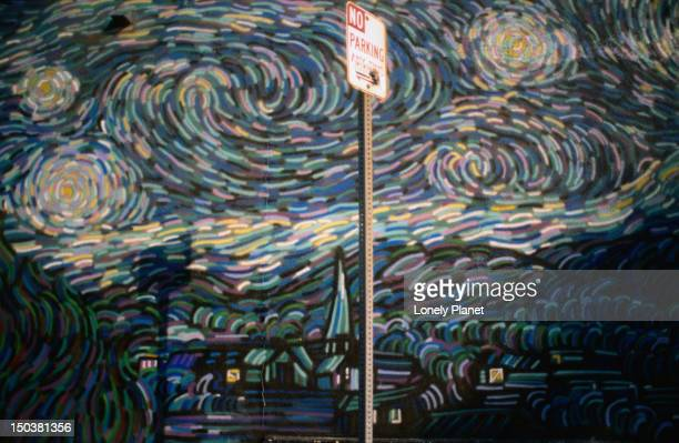 Homage to a Starry Night at Venice Beach.