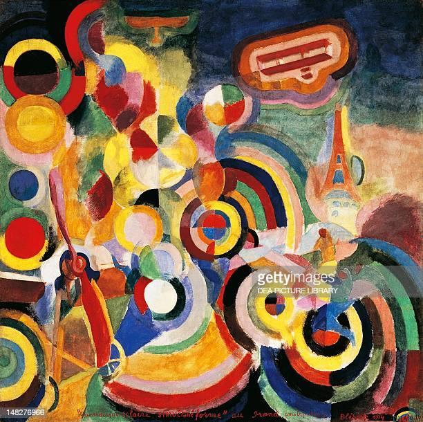 Homage to Bleriot by Robert Delaunay Basel Kunstmuseum