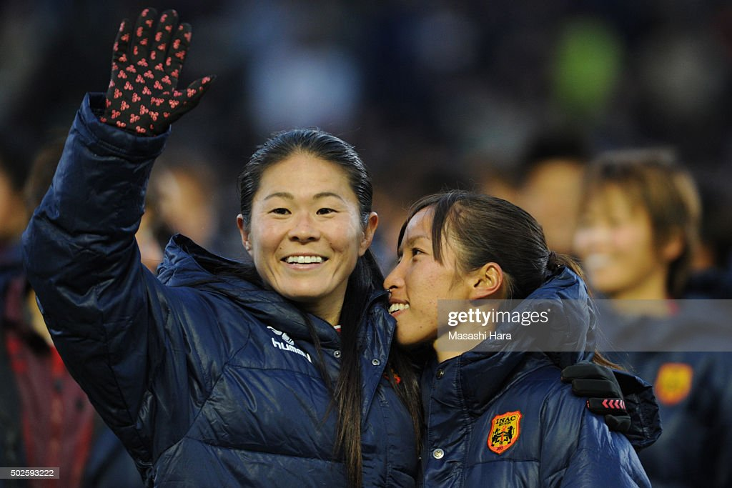 INAC Kobe Leonessa v Albirex Niigata Ladies - The 37th Empress's Cup All Japan Women's Championship Final : News Photo