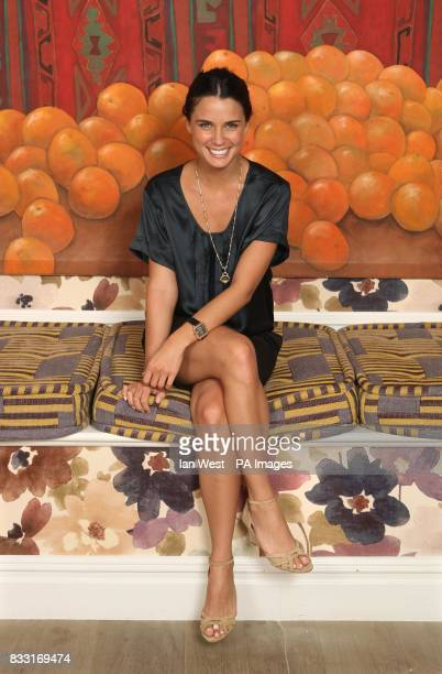 Home and Away actress Jodi Gordon during a portrait session at the Charlotte Street Hotel, in central London. Issue date: Thursday July 19, 2007....