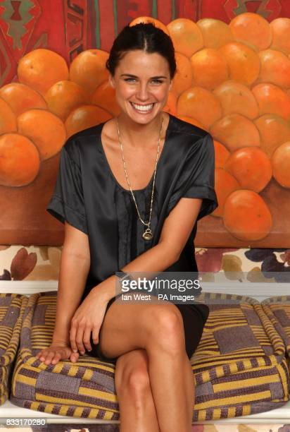Home and Away actress Jodi Gordon during a portrait session at the Charlotte Street Hotel in central London Issue date Thursday July 19 2007 Photo...