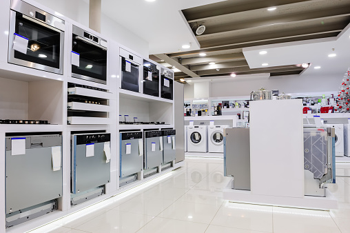 Home appliance in the store 515443264