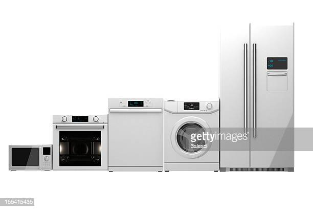 home appliances - haushaltsmaschine stock-fotos und bilder
