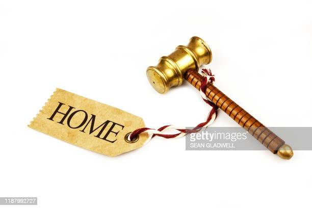home auction - bid stock pictures, royalty-free photos & images