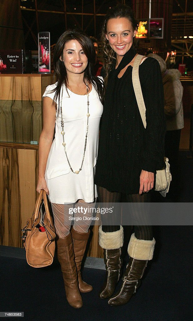 Home & Away stars Ada Nicodemou and Sharni Vinson attends Ray