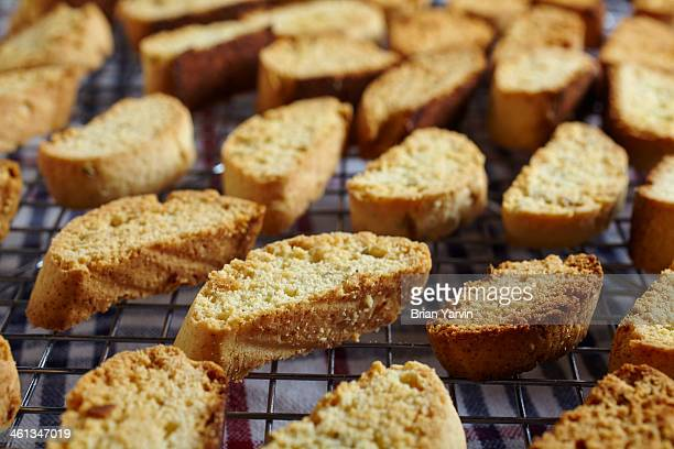 Home baked biscotti